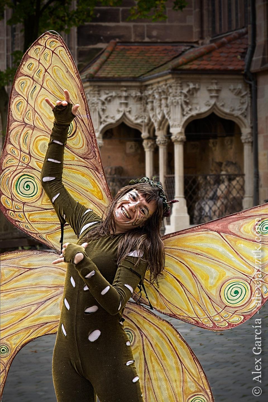 Mariposa alegre